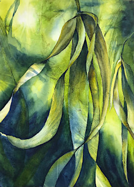 Watercolor Painting - Anji Grainger